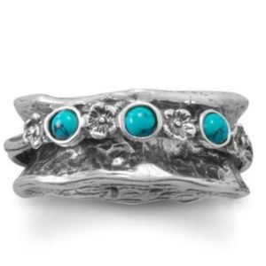 Jewelry - New Turquoise Spin Ring